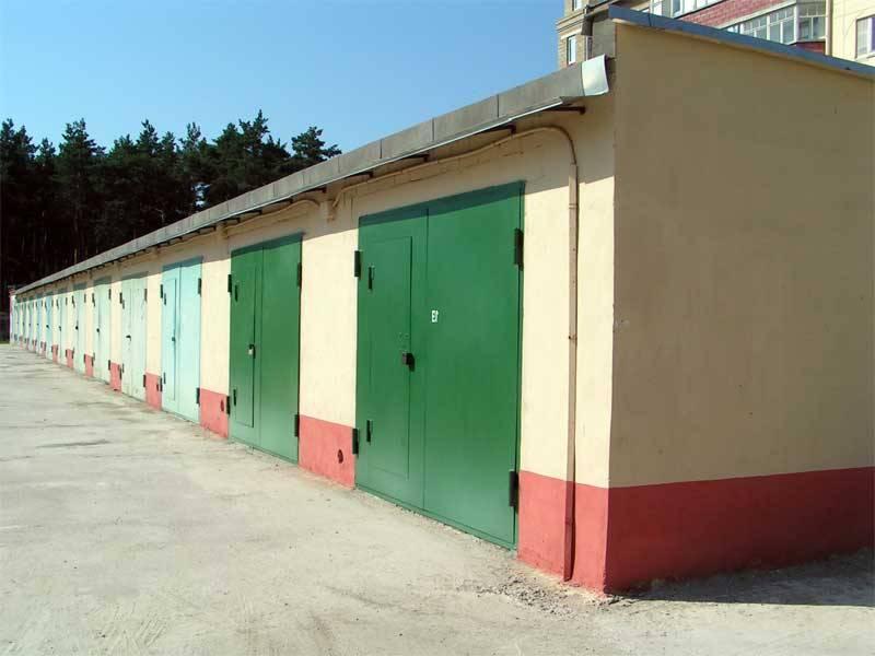 как купить гараж если земля в аренде